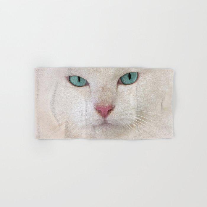 WHITE DELIGHT Hand & Bath Towel