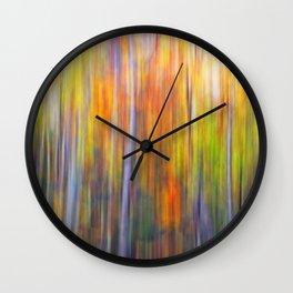 Autumn Forest II Wall Clock