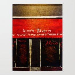 Alex's Tavern, Memphis Poster
