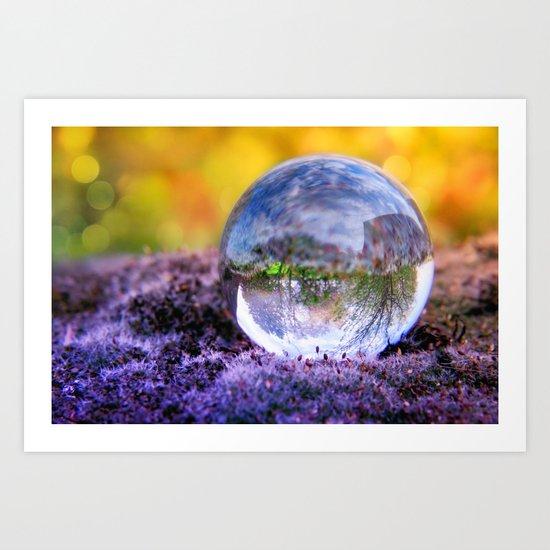 COLLECTION »CRYSTAL BALL« | Autumn Light Art Print