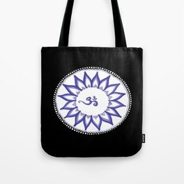 Ohm Flower Tote Bag