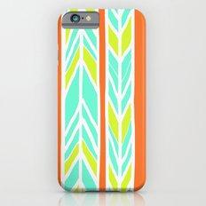 Stripes: Orange, Yellow, Blue iPhone 6s Slim Case