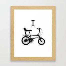I-Chopper Framed Art Print