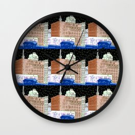 Sweeney Mfg. Brooklyn Wall Clock
