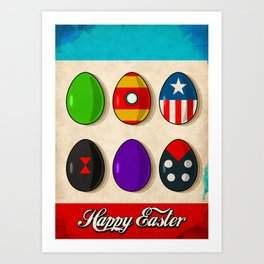 Super Easter Art Print