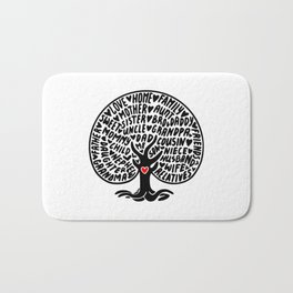 Family Tree Bath Mat