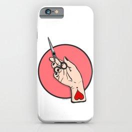 Death Before Split Ends iPhone Case
