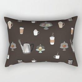 Coffee Shop Rectangular Pillow