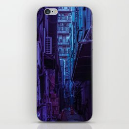 Tokyo Nights / Shadow of The Day / Liam Wong iPhone Skin