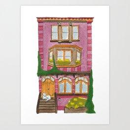 Brooklyn House 8 Art Print