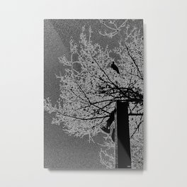 Singing of Life in the Dead of Night Metal Print