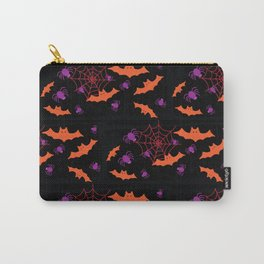 Spider Webs & Bats Carry-All Pouch