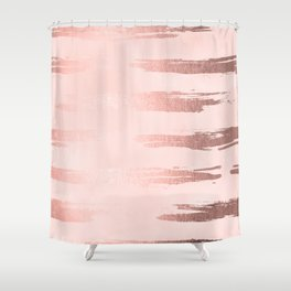 gold and pink shower curtain. Rosegold Pink Stripes Shower Curtain Stripe Curtains  Society6