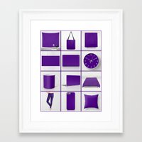 indigo Framed Art Prints featuring Indigo by Beautiful Homes