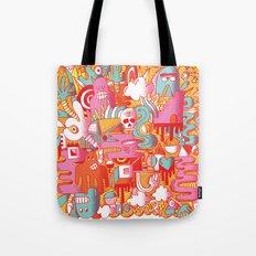 ABSTRACT 0017 Tote Bag
