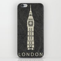 london iPhone & iPod Skins featuring London by NJ-Illustrations