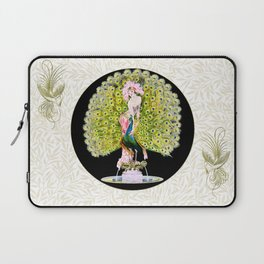 Art Deco Diva Rivalry Laptop Sleeve