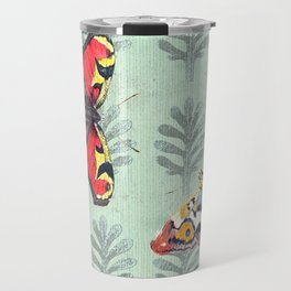 Summer's sojourn with butterflies Travel Mug