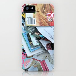 magazines iPhone Case