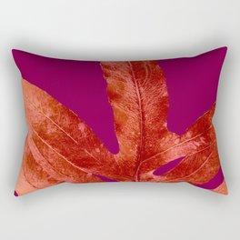 Red Wine Winter Nights, Romance Rectangular Pillow