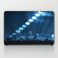 moonrise iPad Cases featuring moonrise  by yahtz designs