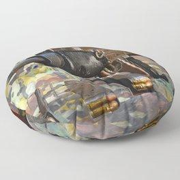 Warped Logic Floor Pillow