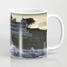 Stormy Burgh Island Hotel Coffee Mug