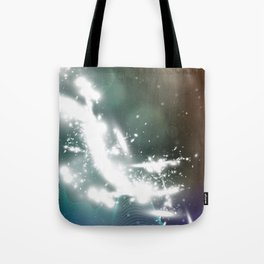 abstract background with highlights Tote Bag