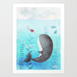 I found you! Art Print