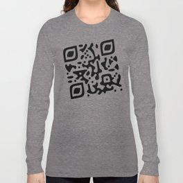 QR Clothes Long Sleeve T-shirt