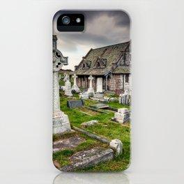 Saint Tudno Llandudno iPhone Case