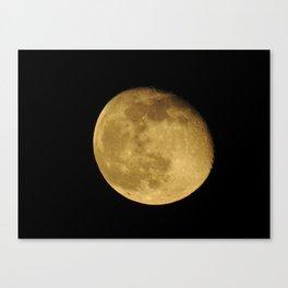 April Moon Rising Canvas Print