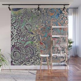 Octopus Rainbow Wall Mural