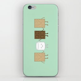Life is S'more Fun Together (Mint) iPhone Skin