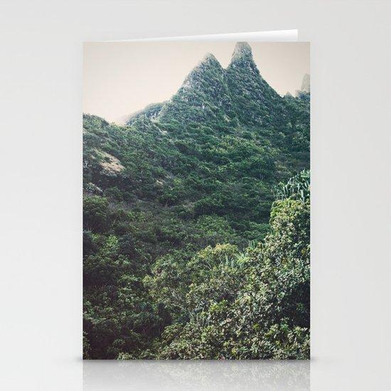 Hawaii Mountain Stationery Cards