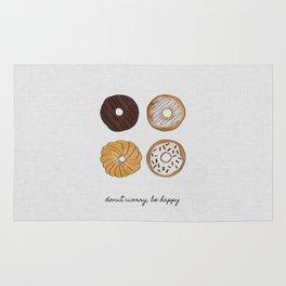 Donut Worry Rug