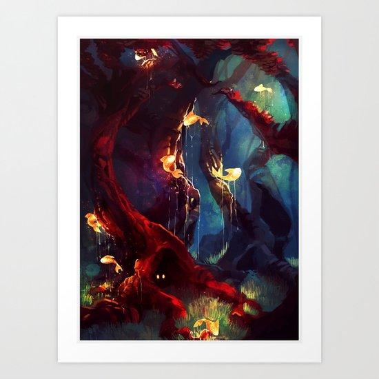 TreeFish Art Print