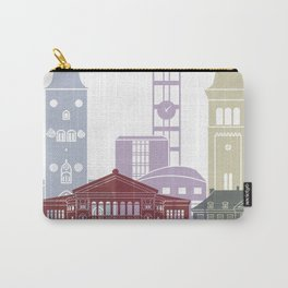 Aarhus skyline poster Carry-All Pouch