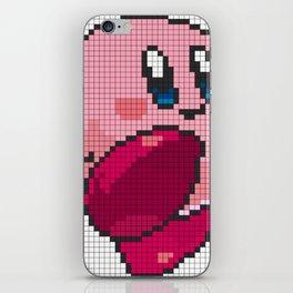 Classic Pixel Kirby iPhone Skin