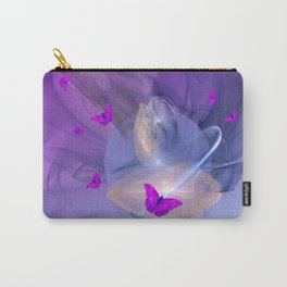 Birth of butterfly wishes Carry-All Pouch