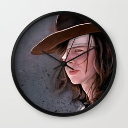 Carl Grimes Before The Fall - The Walking Dead Wall Clock