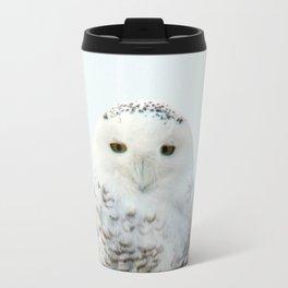 Snowy in the Wind (Snowy Owl 2) Travel Mug