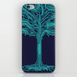Trunklines iPhone Skin