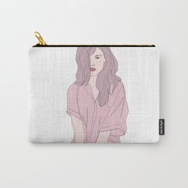 Fashion illustration - Girl Gang Prints - Brook Carry-All Pouch