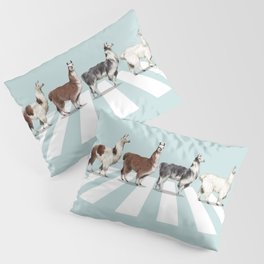 Llama The Abbey Road #1 Pillow Sham