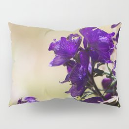 Lupin flowers on the Pyrenees Pillow Sham