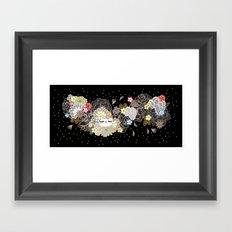 Kokeshina Ebène Framed Art Print