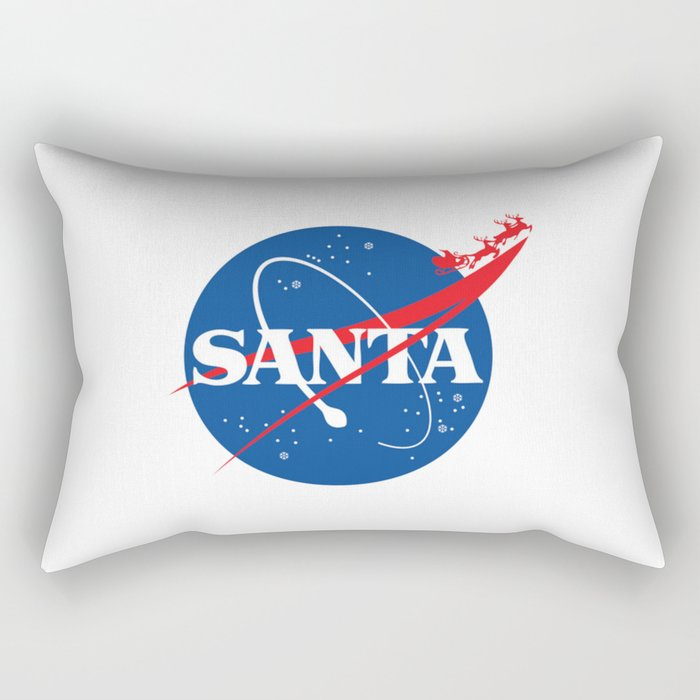 S.A.N.T.A Rectangular Pillow