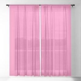 Perfect Pink Sheer Curtain