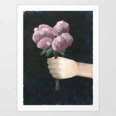 I Picked You Something Art Print